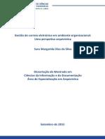 GESTÃO DE CORREIO ELETRÓNICO EM AMBIENTE ORGANIZACIONAL - UMA PERSPETIVA ARQUIVÍSTICA.pdf