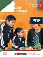 Curriculo nacional de formación incial 2019