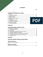 Especificaciones Tecnicas Losa de fundacion