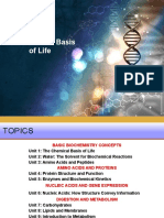 Unit 1- Biochem_The Chemical Basis of Life