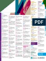 Programación Completa del Festival de Teatro del Mercosur