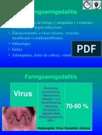 Faringitis- Bacteriología clínica- Facultad de Farmacia y Bioquímica- UBA