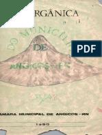 Lei Orgânica Do Município de Angicos RN
