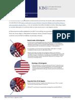 Tensões Comerciais Entre EUA e China aumentam…