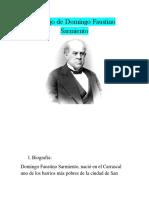 Trabajo de Domingo Faustino Sarmiento