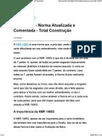 NBR 14653 - Norma Atualizada e Comentada - Total Construção