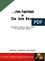 Joseph Aubry_Escritos Espirituais de São João Bosco