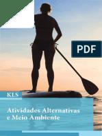 Atividades Alternativas e Meio Ambiente