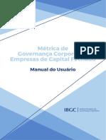Métricas de Governança Corporativa