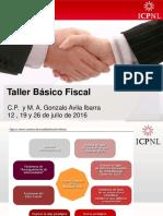 16-07-12 Taller Básico Fiscal