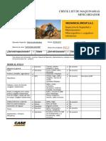 Checklist-Minicargador SR220 J&T  Skid Steer Loaders-CD Punta Negra 30-05-17.pdf