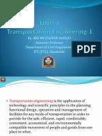 Transportation course