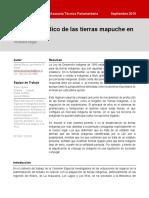 BCN2019 - Estatuto jurídico de las tierras mapuche en Chile