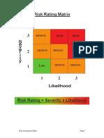 Risk Assessment the Basics