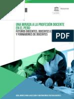 Una Mirada a La Profesión Docente en El Perú Futuros Docentes, Docentes en Servicio  y Formadores de Docentes.