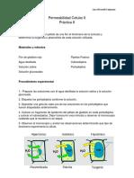 Permeabilidad Celular II