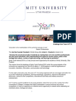 AYF'2019 Sponsorship Proposal