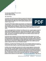 DHEC Transfer Efficiency Test Run Assessment  Sept 13, 2019