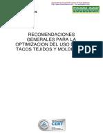 Manual Mantenimiento Bandas de Tacos