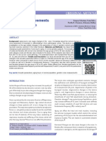 Acoustic measurements of geriatric voice