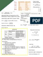 Naplex Memorization Sheet