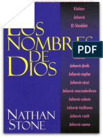 Los Nombres de Dios – Nathan Stone