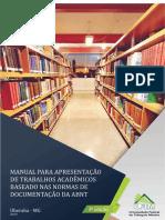 Manual de Apresentação de Trabalhos Acadêmicos Baseado nas Normas de Documentação da ABNT