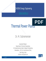 Energy Lecture 07 ThermalPowerPlants