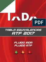 OLÉO HIDRAULICO Tabla-equiv-Atf PDF