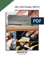 Hosco Tool Catalog 2018 2019