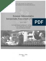Estatuto Admistrativo Interpretado Ley 18834 2008.pdf