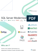 SQL Server Modernization
