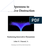 Openness to Creative Destruction (2019)