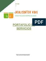 Portafolio de Servicios Oral Center k.
