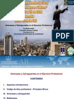 6.Amenazas y Salvaguardas en El Ejercicio Profesional - Cornelio Porras