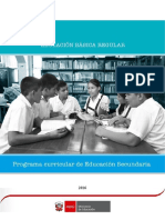 Programa Curricular Educacion Secundaria WORD