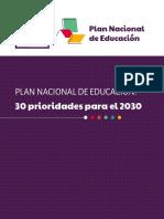 30 PRIORIDADES PARA EL 2020