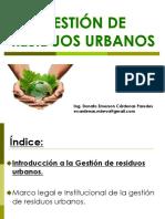 Gestion de Residuos Urbanos -Tecsup