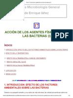 Tema 17_ Acción de Los Agentes Físicos Sobres Las Bacterias (I)