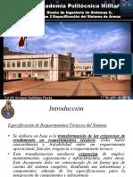 Diseño de Ingeniería de Sistemas, clase 2 (Especificación del Sistema de Armas).pdf