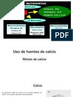 Nitrato de Calcio