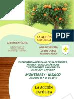 Presentacion de Mapas de La Accion Catolica Monterrey Mexico 2015