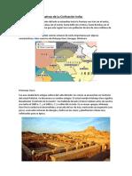 Ciudades Representativas de La Civilización India