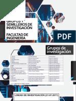 Grupos y Semilleros de Investigación