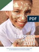 Colombia UNMPTF 2018 Annual Report