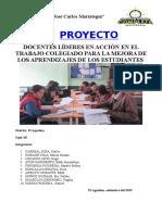 Proyecto Colegiado