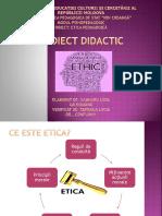 Etica profesionala