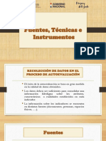 Fuentes, Tecnicas e Instrumentos
