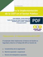 EncuentroGestores-2012-06 - Elaboracion Plan Trabajo Implementacion LSST