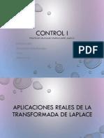 Aplicaciones Reales Laplace control 1
